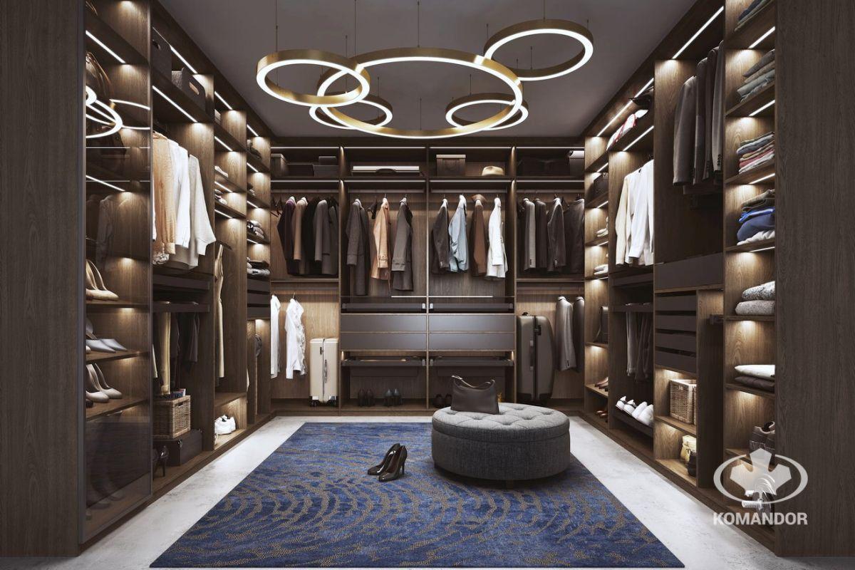 Wspólna garderoba dla Twojego mieszkania. Klasyczny styl i duża funkcjonalność.